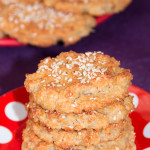 Cottage cheese and oatmeal cookies without eggs